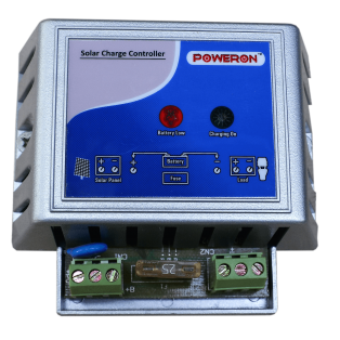 Solar Charge Controller 5A, 12V Plastic Body