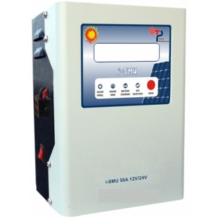 i-SMU 50A, 12V/ 24V Auto Detection  (LCD & LED Display)